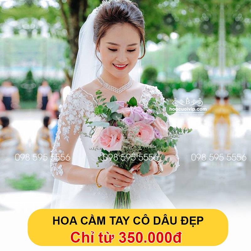 Bảng giá hoa cầm tay cô dâu