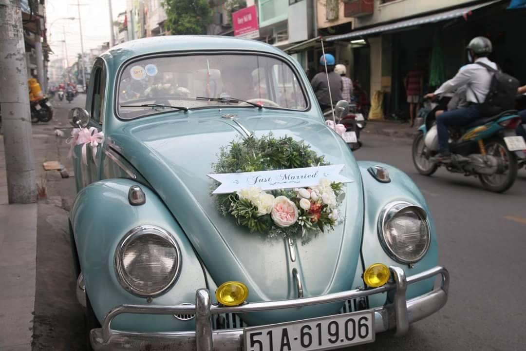 xe cưới phong cách vintage