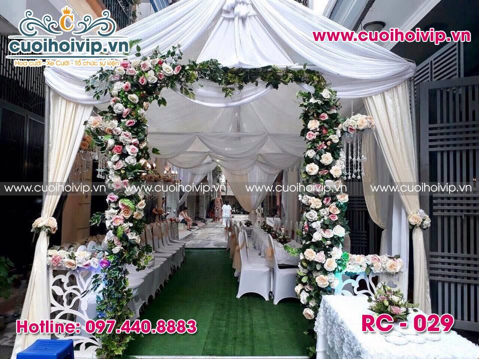 thuê phông rạp đám cưới đẹp