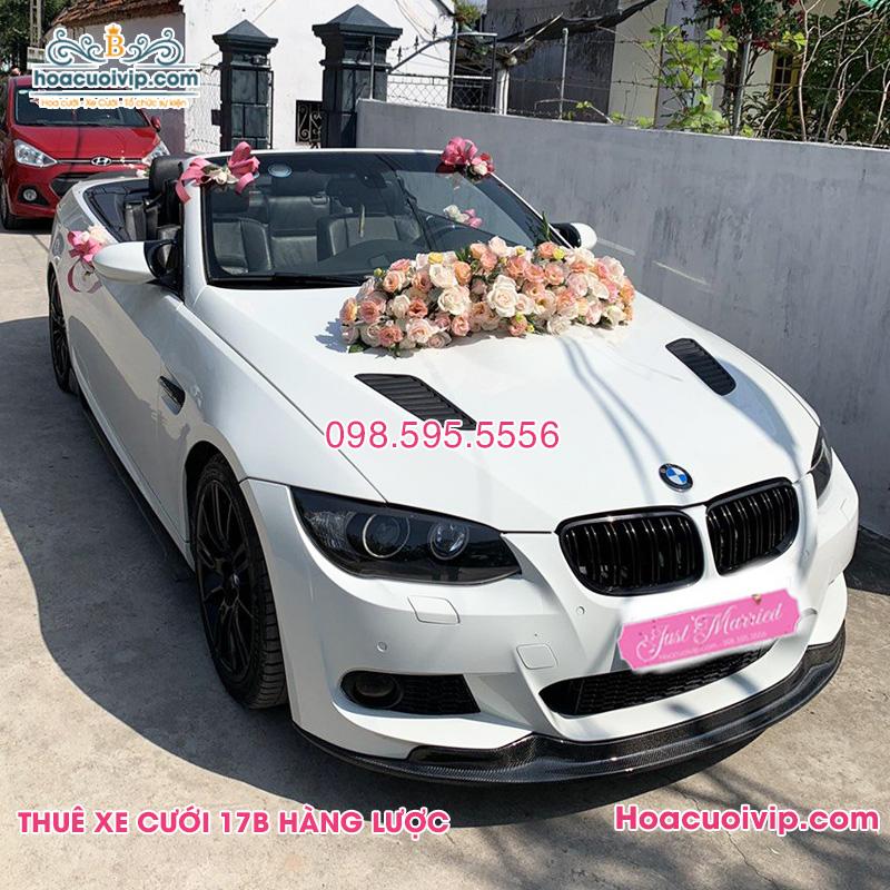 Thuê xe cưới BMW M3 mui trần màu trắng