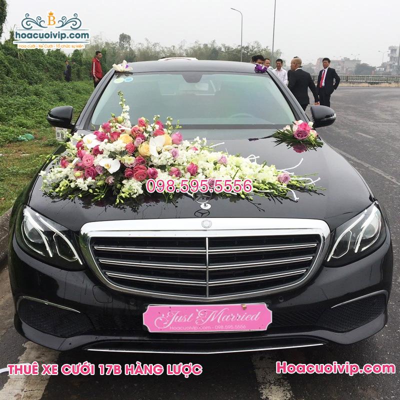 Thuê xe cưới Mercedes E250 2018 2019 màu đen