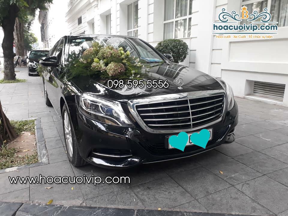 thuê xe cưới mercedes S400 2016 màu đen