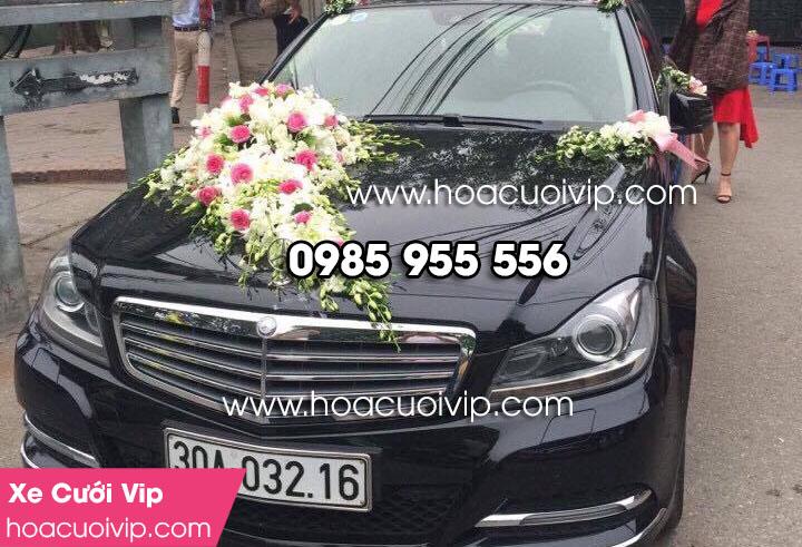 thuê xe cưới mercedes C300 2014 màu đen