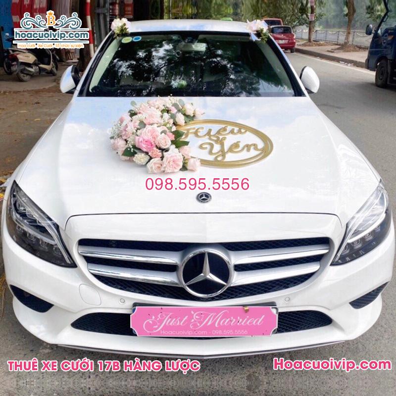 Thuê xe cưới Mercedes C250 2021 màu trắng