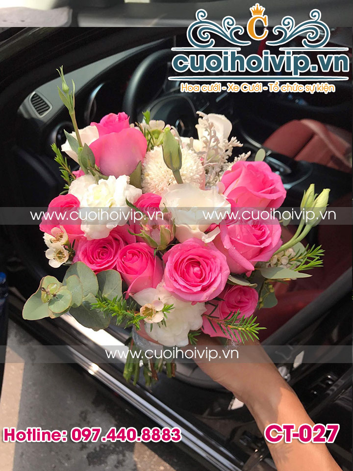 hoa tay cô dâu đẹp