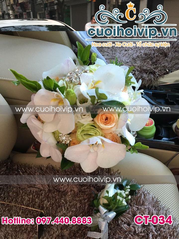 mẫu hoa cô dâu