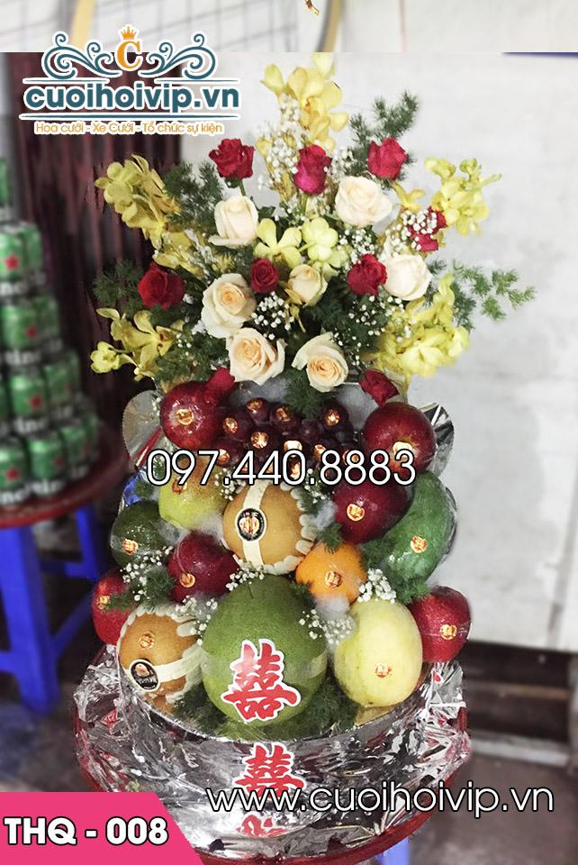 Tráp hoa quả ăn hỏi
